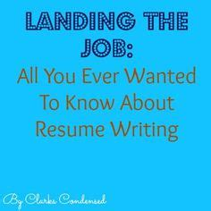 Tips on writing a resume for teachers